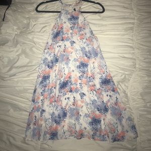 Boutique Floral Cutout Dress